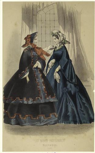 008- Les Modes parisiennes 1862
