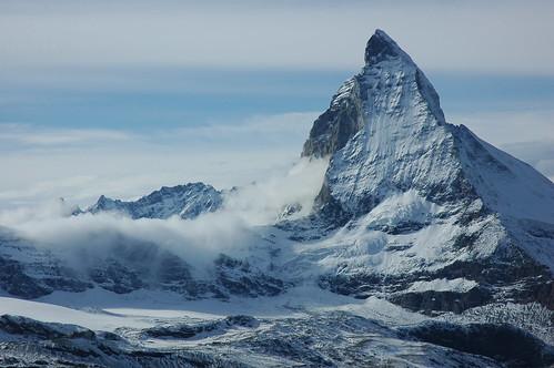フリー画像| 自然風景| 山の風景| マッターホルン| スイス風景|       フリー素材|