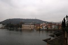 Prager Kleinseite von der Karlsbrücke