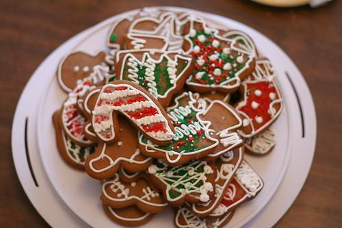 Christmas icing cookies 20088