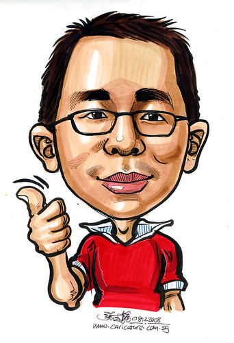 Caricature for Singapore Armed Forces 14