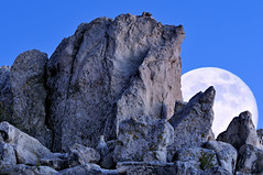 Rock Fort Moonrise (Fort Photo) Tags: blue sky moon nature night landscape carr evening nikon colorado rocks searchthebest full moonrise co as