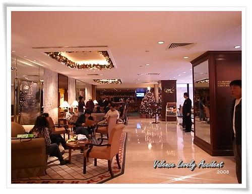 馬可孛羅港威酒店大廳