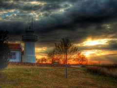 Lighting time for sun... (Nejdet Duzen) Tags: travel cloud sun lighthouse holiday tree sunrise turkey trkiye beam antalya soe akdeniz bulut gne aa tatil turkei fener seyahat denizfeneri gndoumu mywinners abigfave ultimateshot hzme goldstaraward vosplusbellesphotos