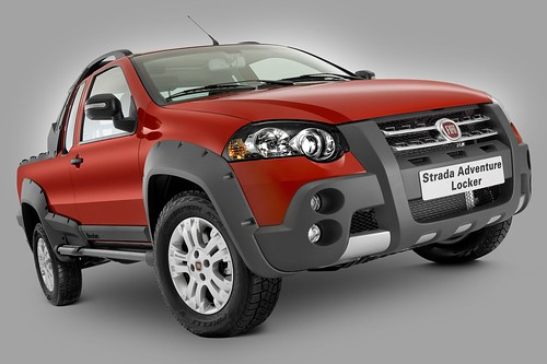 Fiat Strada Adventure Locker. pick up Strada Adventure