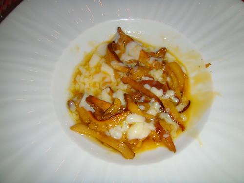 Amanita Cesárea con huevo cocinado a baja temperatura