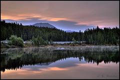 Herbert Lake & Icefield Parkway (Maclobster) Tags: lake rockies canadian louise herbert hdr keithgrajala
