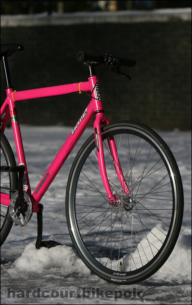 pink IRO hardcourt polo bike 2