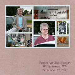 Fenton, 2007 (Sunny Days) Tags: vacation glass digital scrapbook layout load fenton