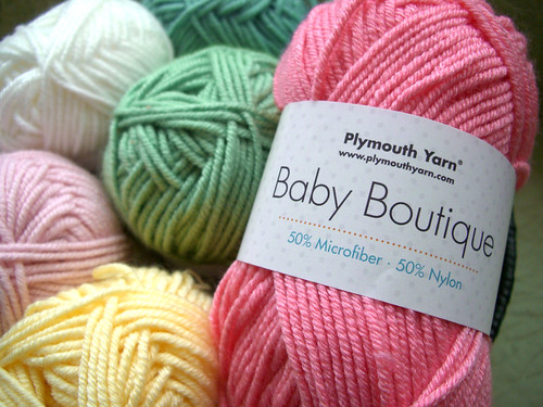 Baby Boutique yarn label