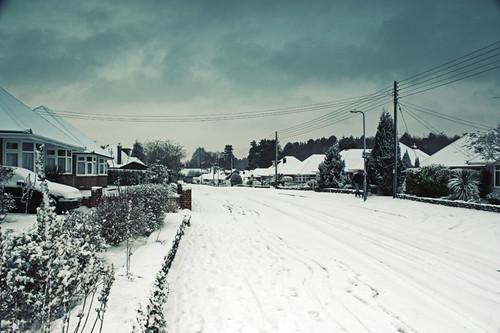 Ashurst in snow 2