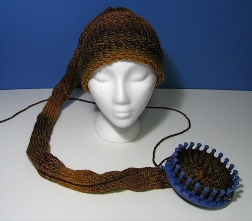 Snake hat WIP