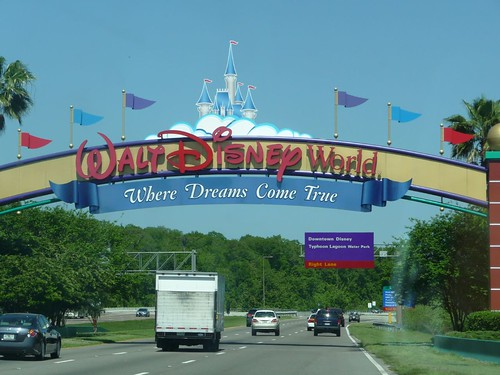 disneyworld entrance.