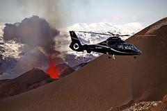 Helicopter over the eruption (fredrikholm.se) Tags: island volcano lava iceland islandia eruption ísland magma vulcano vulkan eldfjall volcán islanda fimmvörðuháls eyjafjallajökull firefountain eyjafjallajokull erupción fimmvorduhals eldgos vulkanutbrott