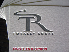 Totally Rocks Business Cards