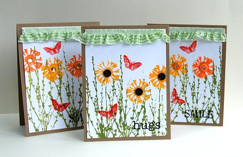 flower cards (paint)