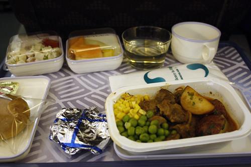 food courtesy of Korean Air