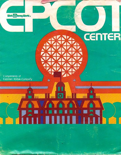 EPCOT Center map 1983 1