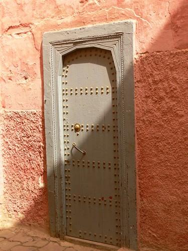 Удивительные и великолепные марокканские двери. Автор: Mnemon