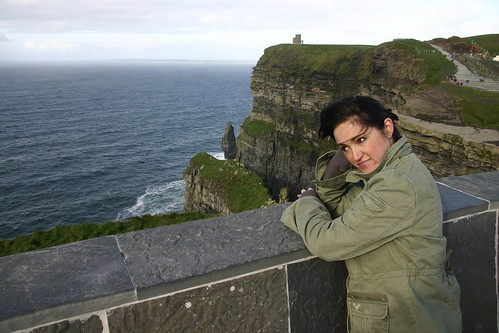 Jessa at Cliffs of Moher