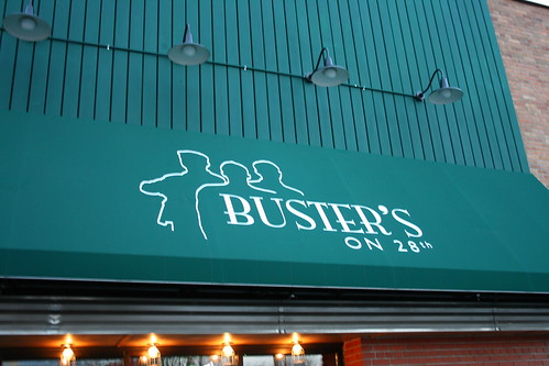Outside of Buster's