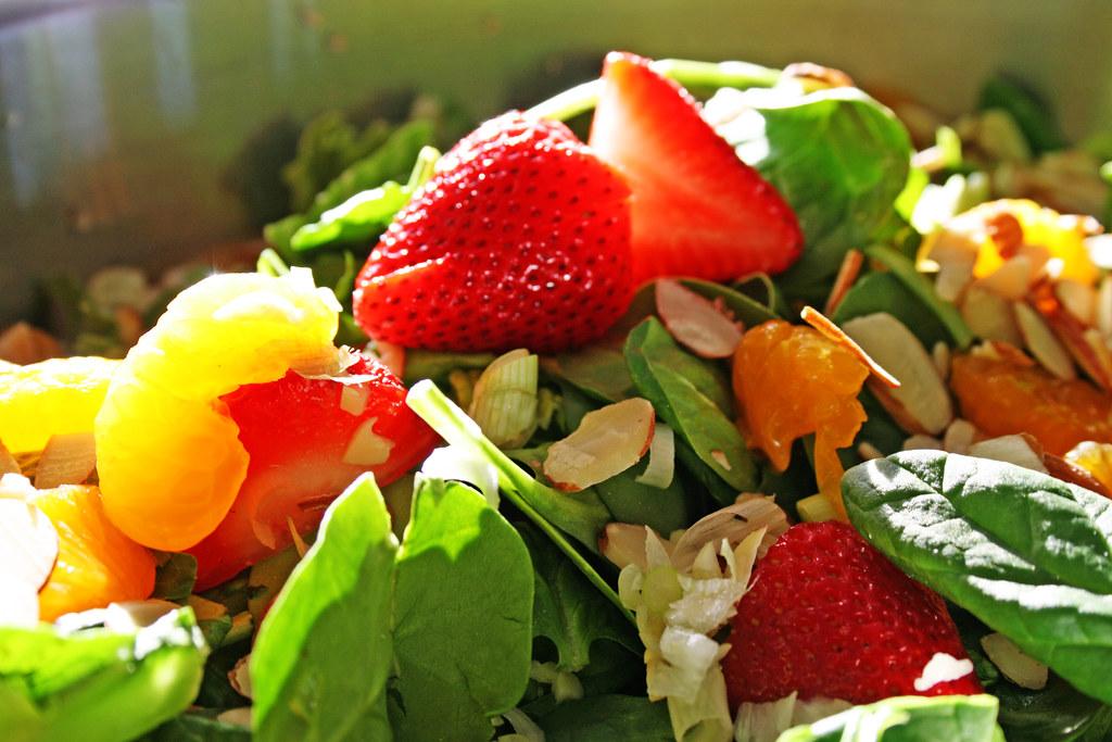 Kids Spinach Salad Recipe