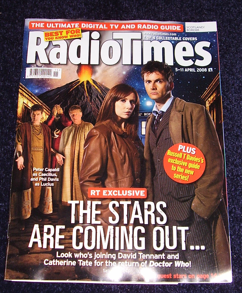 RADIO TIMES - Dr Who Cover 2