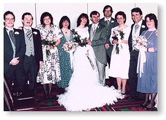 Diane's and Peter's Wedding at 1987 Boskone (gsbrickner) Tags: wedding 1987 peter diane duane boskone morwood