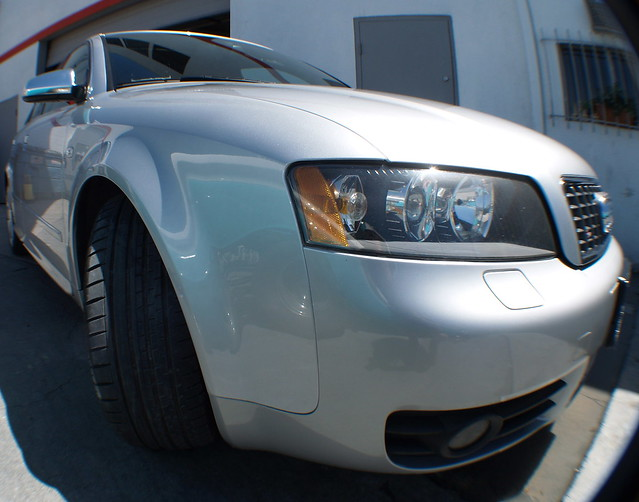 silver invisible audi s4 2007 repaired vorsprung my