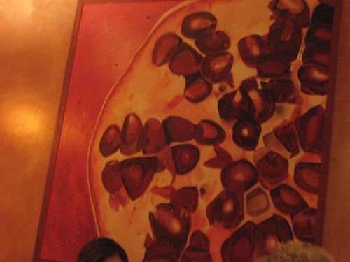 5.7.08 grezzo-pomegrante painting