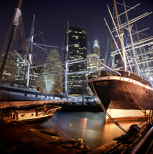 newyorkcity newyork water night sailboat buildings reflections lights dock bravo skyscrapers searchthebest manhattan ships financialdistrict southstreetseaport eastriver bec tallships themoulinrouge oldships firstquality fpg imagepoetry myphotobook abigfave platinumphoto infinestyle goldenphotographer diamondclassphotographer betterthangood thegardenofzen mastersoflifegallery poseidonsdance rickelkins