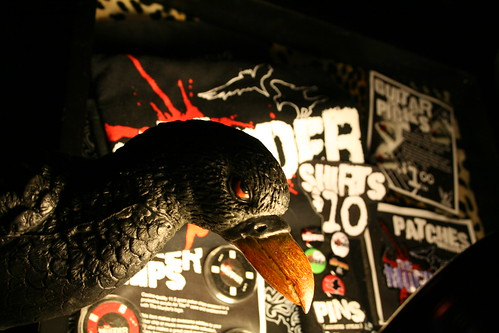 The Murder - Merchandise Display