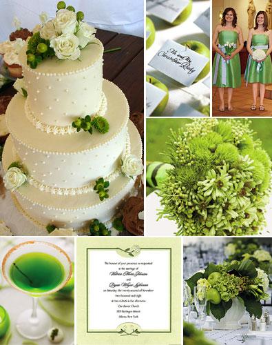 2606372926 c67816a422 o 141 ideias de casamento verde e branco
