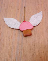 Art-Craft Challenge - Week Three: Final The Flying Cupcake!
