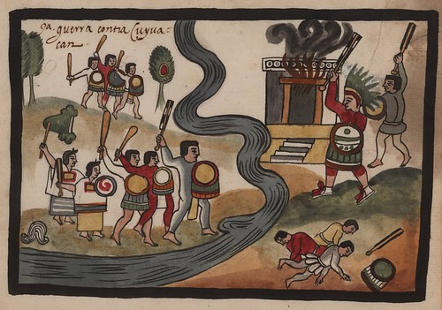 10- 9a. Guerra contra Cuyuacan