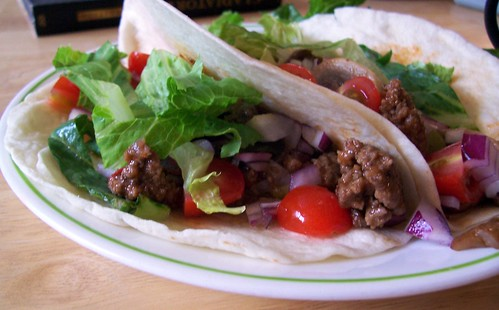 American BBQ Tacos