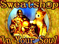 Sweatshop In Your Soul... (no Gandhi head) (craigless64) Tags: life music art collage digital photoshop creativity design artist song unique album irony craig hop tune morrison quip cmor