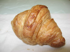 Trois Crepes Patisserie: Croissant (another view)