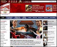 La web de la NBC para los JJOO