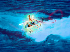 Water Dream (supertequila) Tags: agua kayak kayaking ola sueo lineas