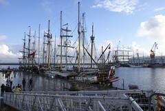 Brest 2008 (MathGon) Tags: boat ship rope brest sail nautical bateau voile voilier corde sailingboat cordage brest2008