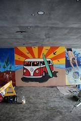 DSC_0869 (Kurt Christensen) Tags: art beach painting mural surf thrust gilgobeach gilgo