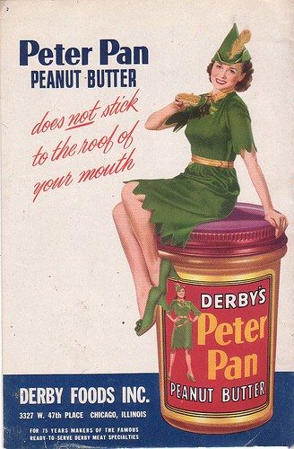 Peter Pan Peanut Butter, back
