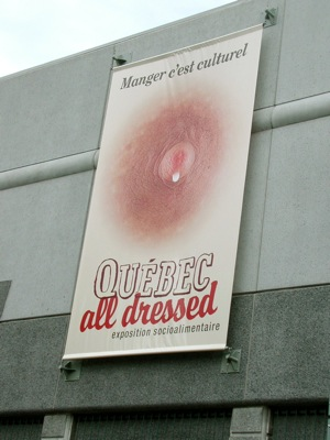 Exhibition Poster in Laval, Quebec