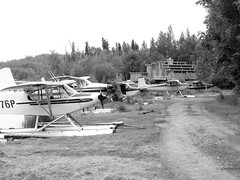 Floatplanes at Fire Lake