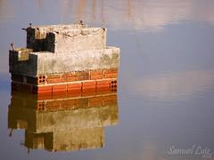 Reflexo (soubim) Tags: gua lago ponte reflexo concreto tijolos duetos soubim seiloqueescrever notenhomaisidia toprecisandofotografar samuelluizfotografia