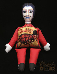 Buster Fickle and Sherlock Flea Doll Stuffed Print