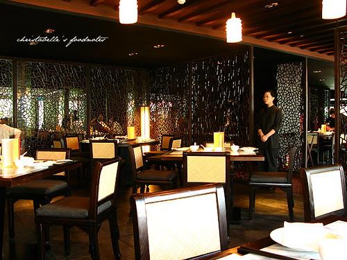 故宮晶華餐廳內