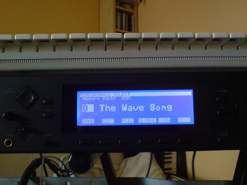 phonecam picture of Korg Wavestation A/D