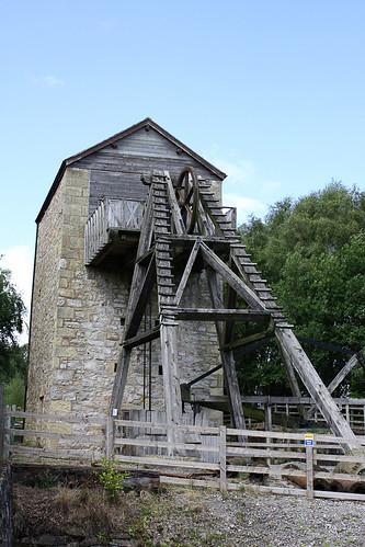 Meadow Shaft engine house, Minera Lead mine